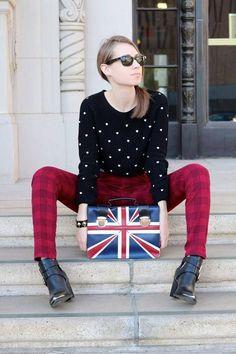 Union Jack ♔ Fashion Bag