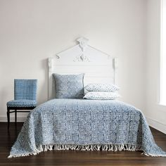 Woodgrain Bed Throw With Fringe   Les Indiennes