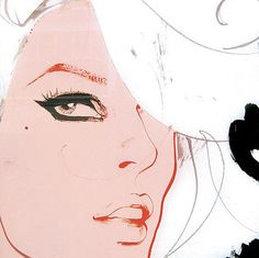 illustration.color palette - david downton