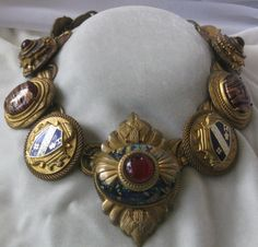 Fabulous Vintage Large Runway Necklace From Neiman Marcus from Vintage Jewelry Too on RubyLane