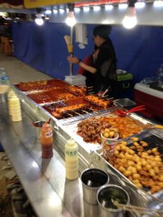 Street Food in Seoul, Korea
