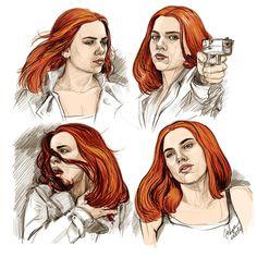 Natasha Romanoff - Born To Die by DafnaWinchester on DeviantArt