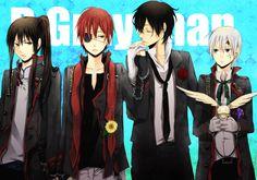 d.gray-man | Tags: Anime, Att0w0, D.Gray-man, Yuu Kanda, Lavi, Allen Walker, Tyki ...