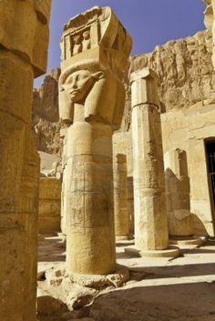 Templo de Hatshepsut, Luxor, Egipto