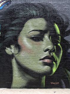 Artist :El Mac  There's something so captivating about this woman.