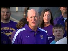 UNI's Coach Mark Farley challenges Iowans to make difference