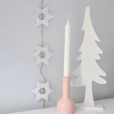 Origami Christmas, Star Wars, Candles, Stars, Starwars, Candy, Sterne, Star, Candle