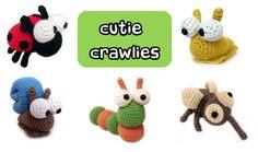 cutie crawlies amigurumi crochet ebook pattern collection