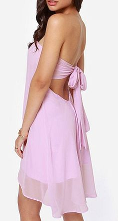 Wrap Chest Bowknot Sexy Dress