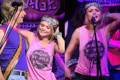 License to Boot Bound By Wild Desire Tank PINK as seen on Miranda Lambert Shop Now www.licensetoboot.com