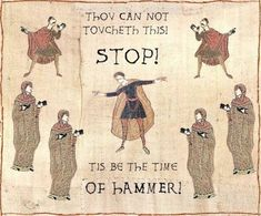 MC Hammer meets tapestries