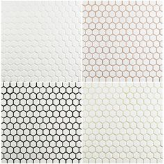Merola Tile Metro Hex Glossy White in. x 5 mm Porcelain Mosaic Floor and Wall Tile sq. / case) FXLMHW at The Home Depot - Mobile