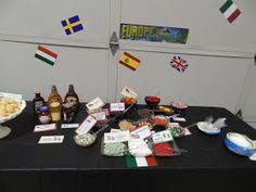 """Candy Pretzel Parties: Around the World Party Europe (""""gelato"""" sundae bar)"""