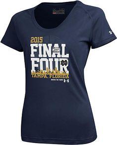 Under Armour Notre Dame Fighting Irish Women's Basketball 2015 Final Four Women's T-Shirt | University Of Notre Dame