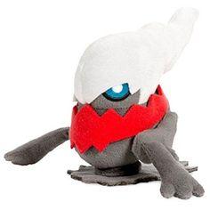 Pokemon Darkrai Plush, Multicolor