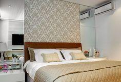 Nos dias de hoje os espaços em apartamentos e casas estão cada vez menores, então como criar um espaço para o casal em um cômodo bem pequeno...