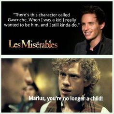 Les Miserables. I wanna see Les Mis sooo badly!!!
