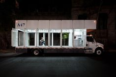 A mobile library in Mexico City.