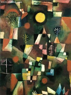 """Full Moon"" - Paul Klee"