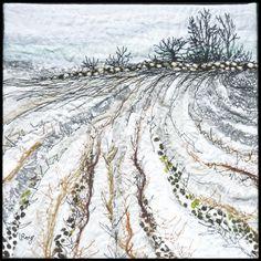 Winter Field #7 - Lorraine Roy