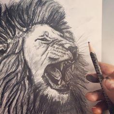 Löwen Sketch mit Bleistift. #lassnig Watercolor Tattoo, Tattoos, Instagram Posts, Pencil, Tatuajes, Tattoo, Watercolor Tattoos, Japanese Tattoos, Tattoo Illustration