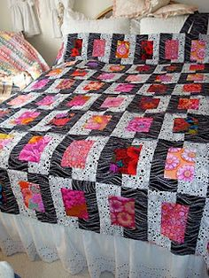 inspiration only...love the colors, easy enough pattern...going on my to-do list...