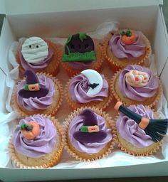 Cupcakes para Halloween.
