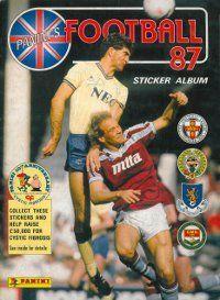 Panini Football 87 Album Cover