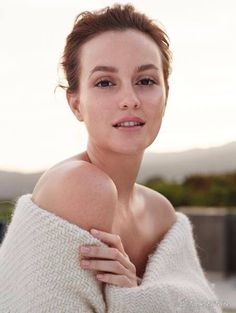 Leighton Meester for Biotherm #leighton #meester #biotherm
