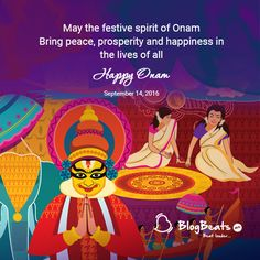 Happy Onam Happy Onam, Festivals, Special Events, Movie Posters, Life, Film Poster, Popcorn Posters, Billboard, Film Posters