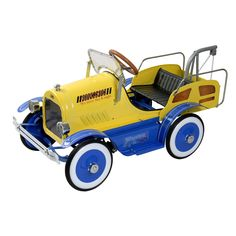 Tow Truck Roadster Pedal Car
