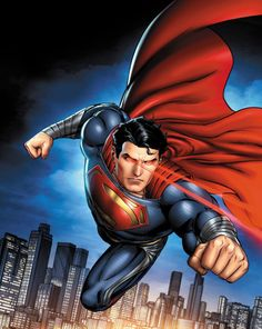 When I was a kid I had mixed feeling towards 'Superman'. I did buy some of his products buy I preferred other superheroes. Even now, I wouldn't consider watching the superman movies! Arte Do Superman, Supergirl Superman, Batman Vs Superman, Spiderman, Superman Characters, Superman Movies, Comic Book Characters, Steel Dc Comics, Superman Man Of Steel