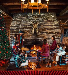 "Incredibly proud to announce our ""Cozy Cabin Christmas"" collection on KJP.com  Made in USA"