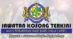 Jawatan Kosong di Majlis Perbandaran Johor Bahru Tengah (MPJBT) - 8 Dis 2016   Permohonan adalah dipelawa daripada warganegara Malaysia dan keutamaan akan diberikan kepada RAKYAT NEGERI JOHOR DARUL TAKZIM berumur tidak kurang dari 18 tahun pada tarikh tutup iklan dan berkelayakan untuk mengisi jawatan berikut di Majlis Perbandaran Johor Bahru Tengah  Jawatan Kosong Terkini 2016diMajlis Perbandaran Johor Bahru Tengah (MPJBT)  Jawatan:  1. AUDITOR KOMPUTER  5 Kekosongan2. KETUA EKSEKUTIF…