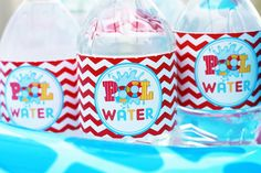 Pool Party Birthday Party Ideas | Photo 1 of 19 | Catch My Party