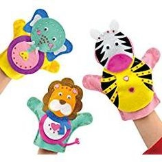 Felt Hand Puppets X10 to decorate and personalise