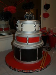 Drum Cake - just awesome