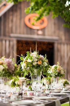 Bonney Lake, Washington Wedding Inspiration  Read more - http://www.stylemepretty.com/little-black-book-blog/2013/12/13/bonney-lake-washington-wedding-inspiration/