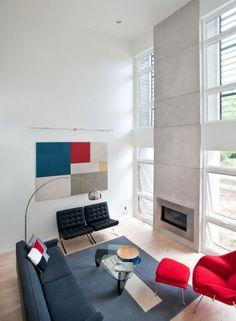 Comfortable Living Room Interior Design