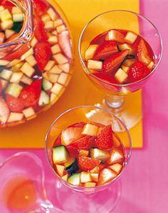 Pimm's mit Erdbeeren - Rezepte