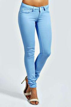 Kim Skinny Fit Denim Jeans at boohoo.com