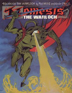 Cover for Nemesis the Warlock (Titan, 1983 series) #2