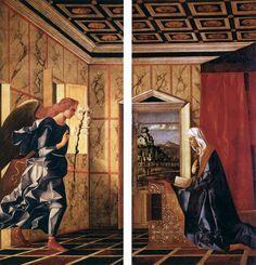Giovanni Bellini, The Annunciation angel,  Gallerie dell'Accademia - MIBAC