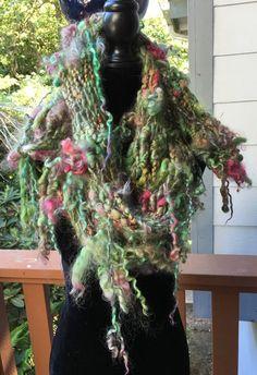 Hey, I found this really awesome Etsy listing at https://www.etsy.com/il-en/listing/293432033/hand-spun-art-yarn-boa-scarf
