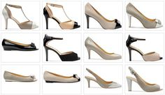Stile bon ton per le scarpe proposte da Geox per la primavera estate 2012.