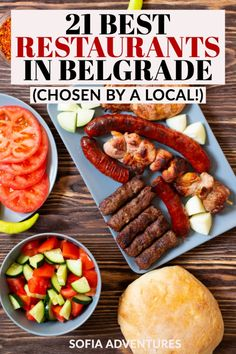 Wondering where to eat in Belgrade? Our local writer has gathered the 21 best restaurants in Belgrade - full of delicious Serbian food & more to try! Serbian Food, Serbian Recipes, Genetically Modified Food, International Travel Tips, Cool Cafe, What To Cook, World Heritage Sites, Cool Places To Visit, Cafes