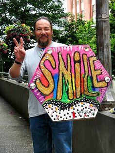 Homeless man, Seattle, WA