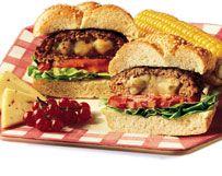Two-Cheese Wisconsin Burgers | Wisconsin Milk Marketing Board