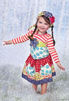 Giggle Moon Peace and Joy Connie Skirt PREORDER $79.00