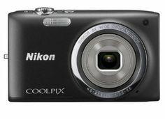 Nikon Coolpix S2700 Fotocamera Digitale 16 Megapixel, Zoom Ottico 6x, Display TFT da 6.7 cm (2.7 Pollici), Colore Nero [Versione EU]: Amazon...